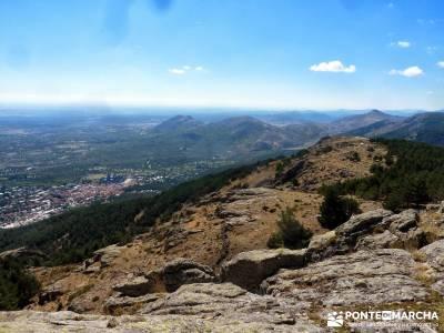 Abantos y Cuerda Escurialense;pueblos de madrid senderos montañas
